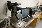 Non-destructive & destructive part testing equipment.  Microscopic Examination and image capture.